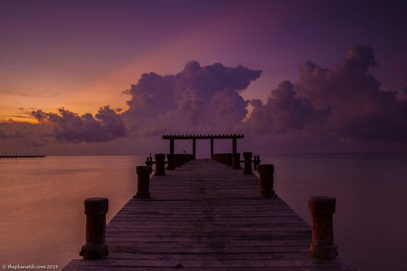 creating balance sunset