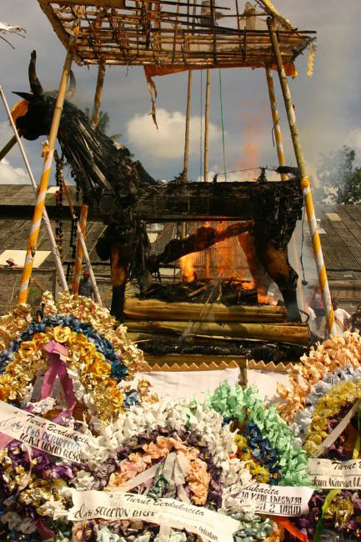 Witness a Cremation Ceremony in Bali