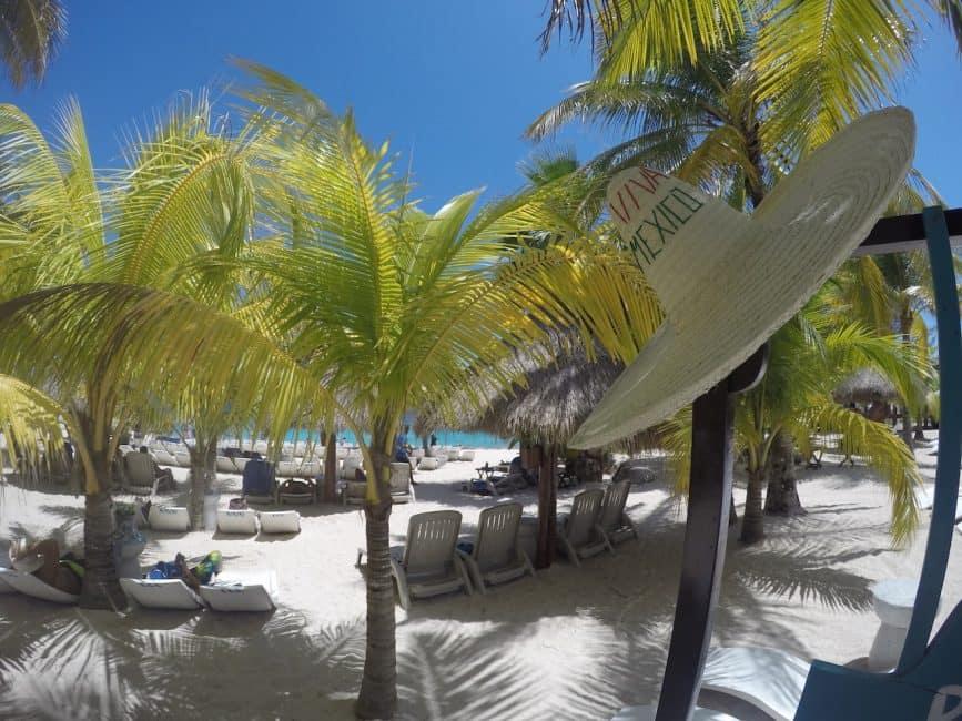 cruise to cozumel beach