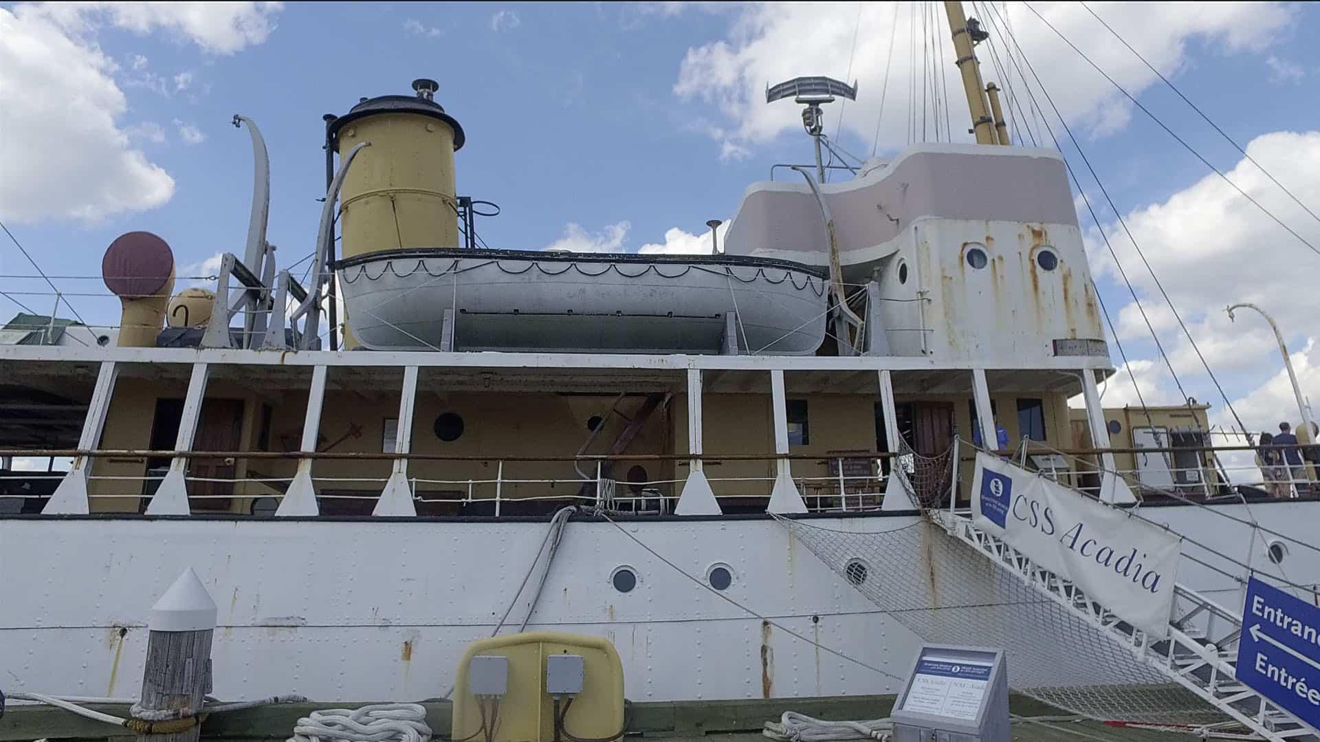CSS Acadia in Nova Scotia
