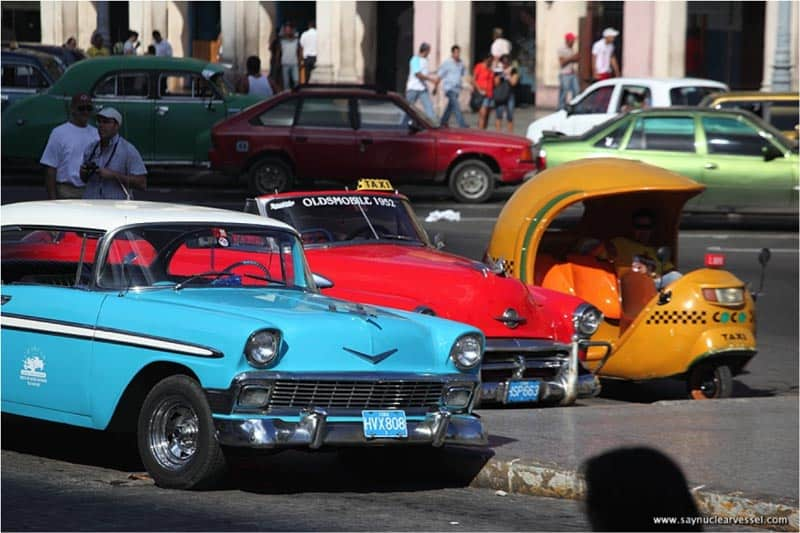 cuba photos old cars