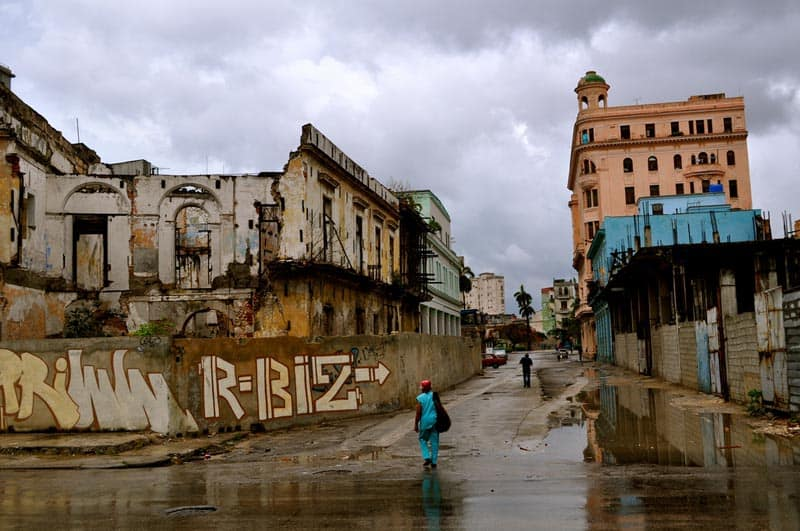 pictures of cuba slums