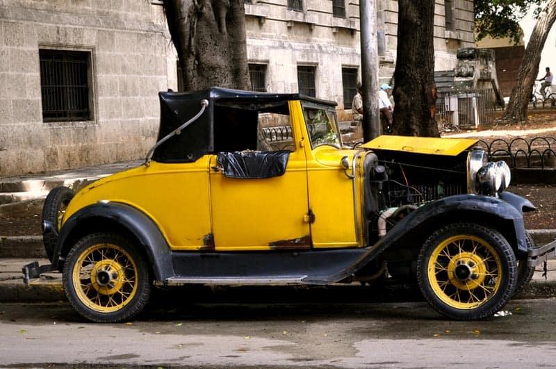 cuba in photos antique car