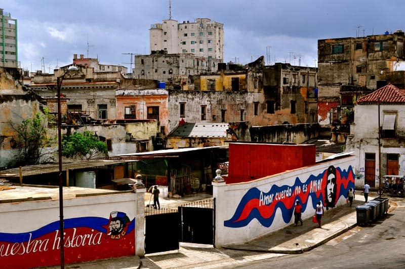 gaffiti wall cuba photo
