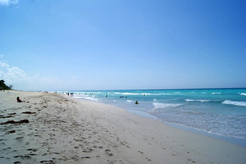 cuba unplugged beach