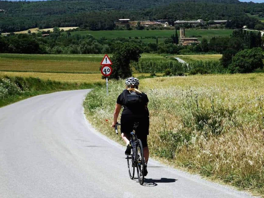 dave and deb cycling girona
