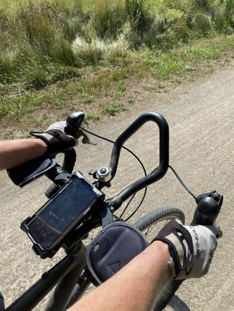 bicycle gear list smart phone holder