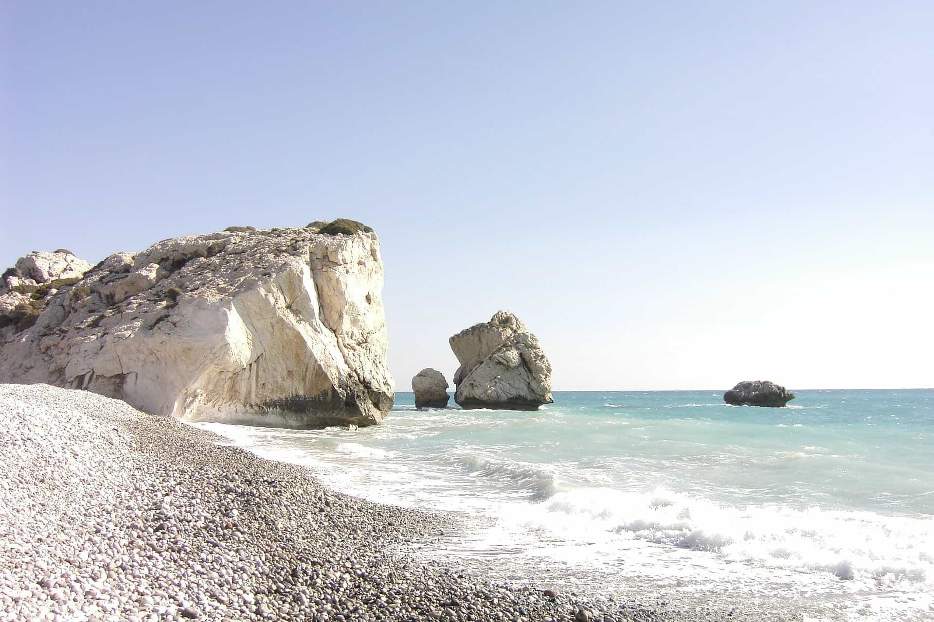 best places to visit in cyprus - aphrodities beach