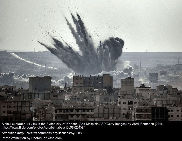 dangerous countries syria