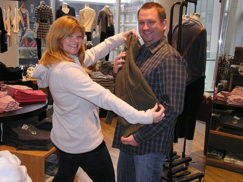 dave and deb at roots canada