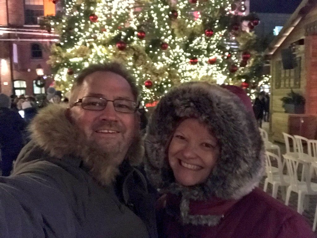 distillery district dave and deb christmas