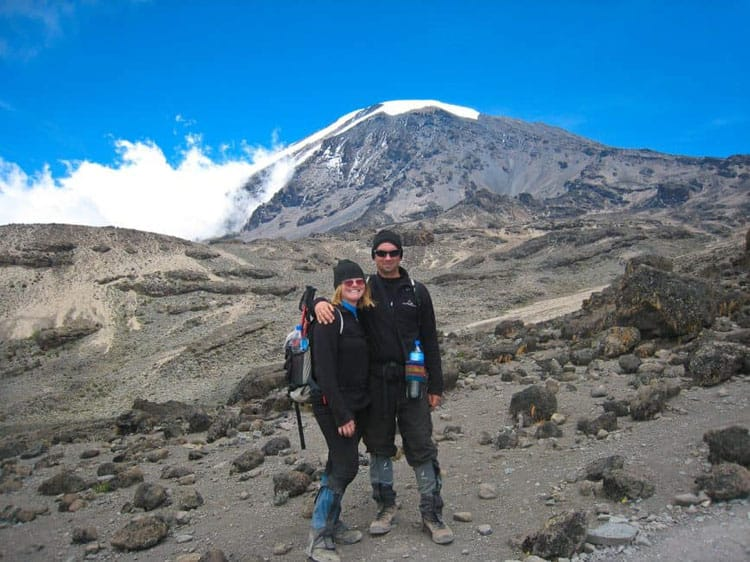 hike mount kilimanjaro dave and deb on trail