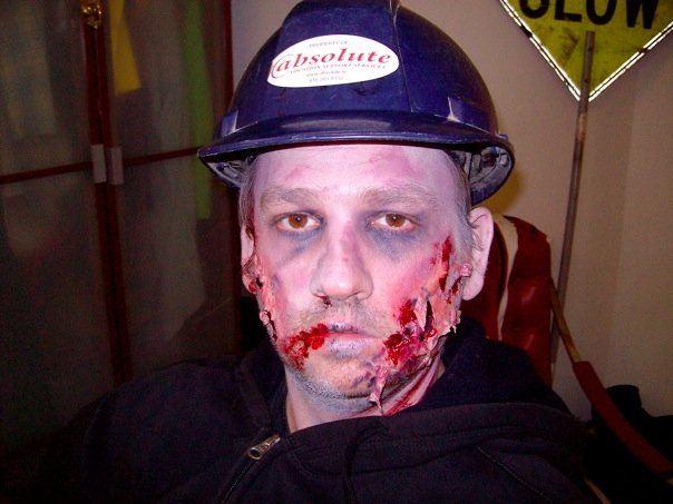 dave zombi on Halloween