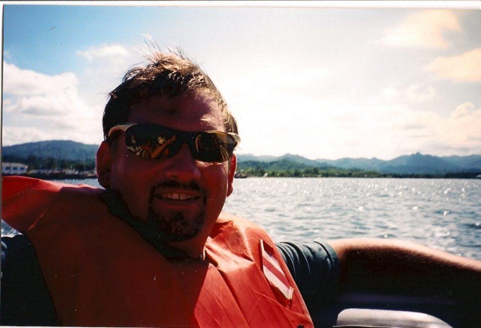 Dave Enjoying the Ride