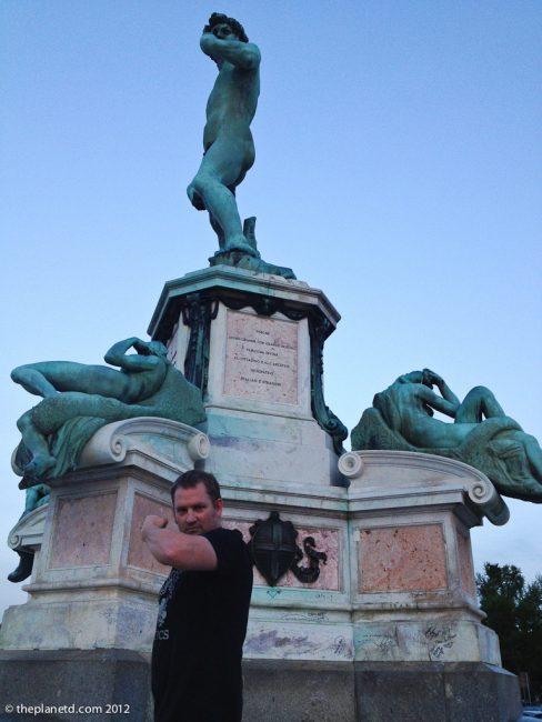 David at Piazzale Michelangelo