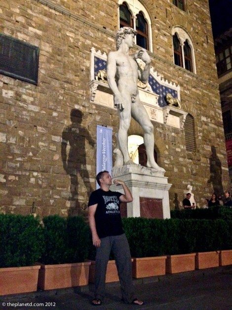 Two Davids in Florence