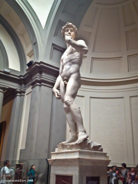 statue of David in Florence Italy