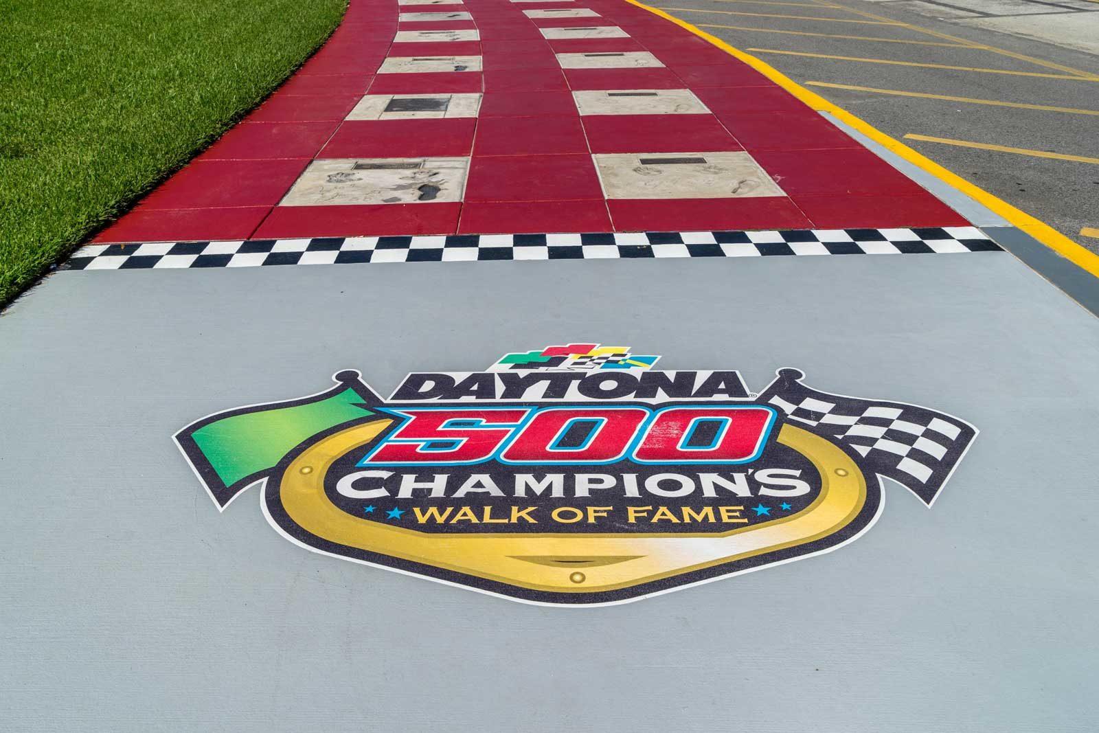 Daytona 500 walk of Champions