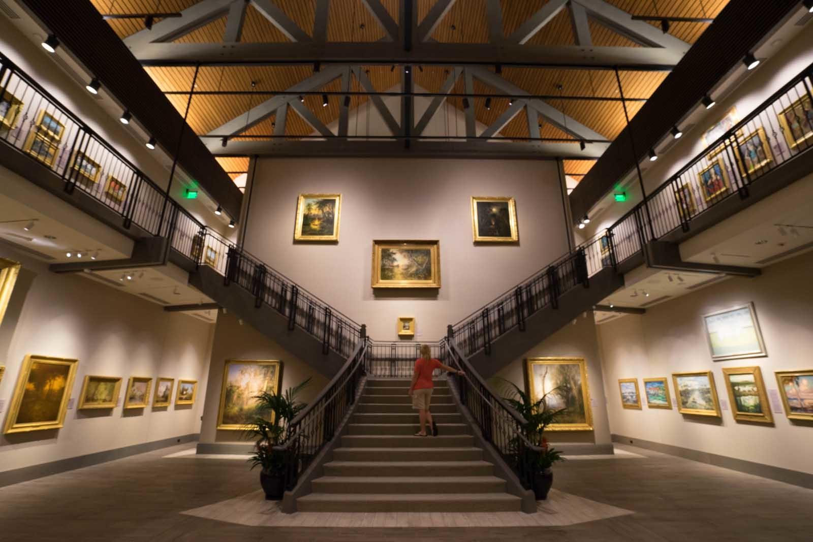 interior cici & Hyatt Brown Musuem of Art