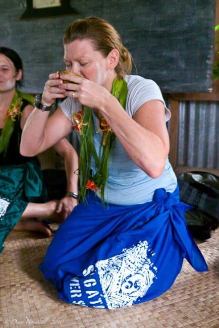 deb drinking kava