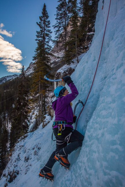 Our Most Recent Adventure, Ice Climbing in Alberta