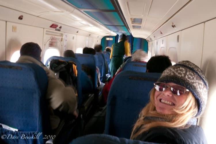 lukla flight back to kathmandu deb on flight