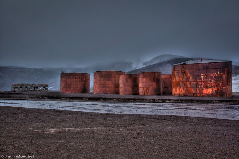Deception Island – Ominous and Beautiful Antarctica