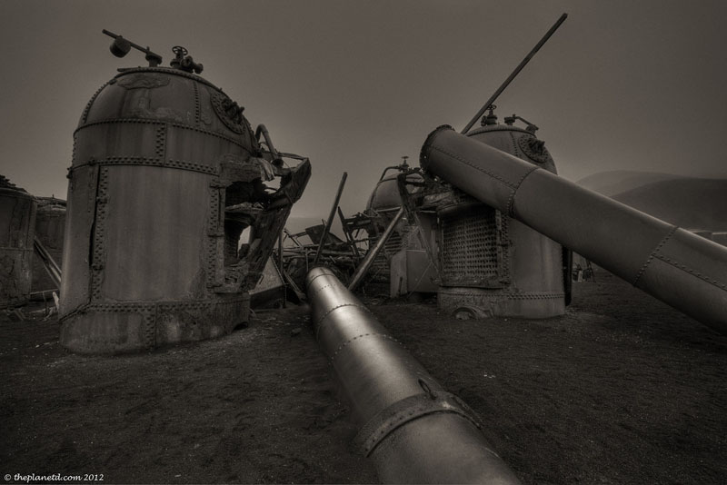 deception island boilers