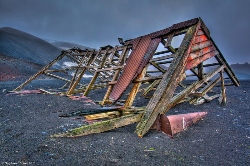 deception island building