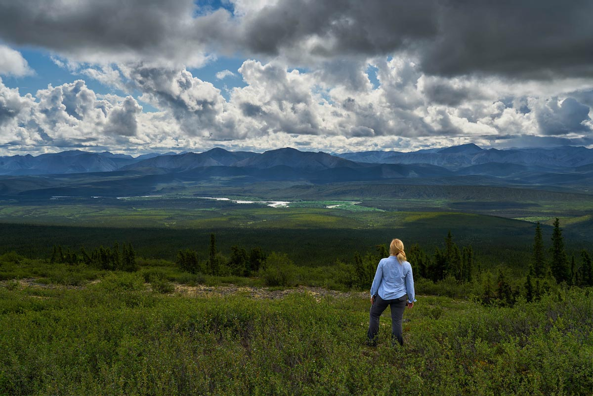 scenery of the dempster highway
