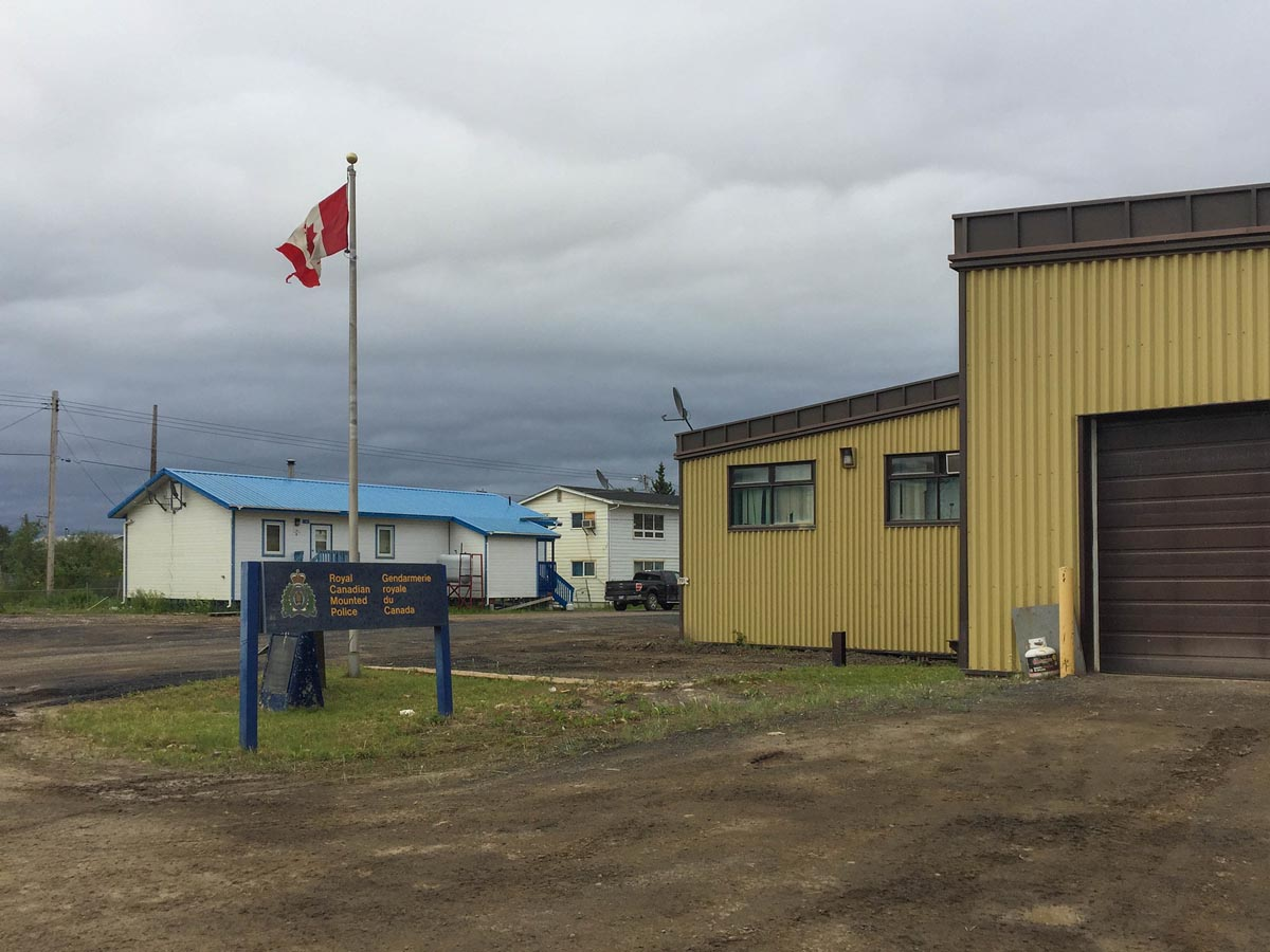 fort mchpherson is a stop on the dempster highway