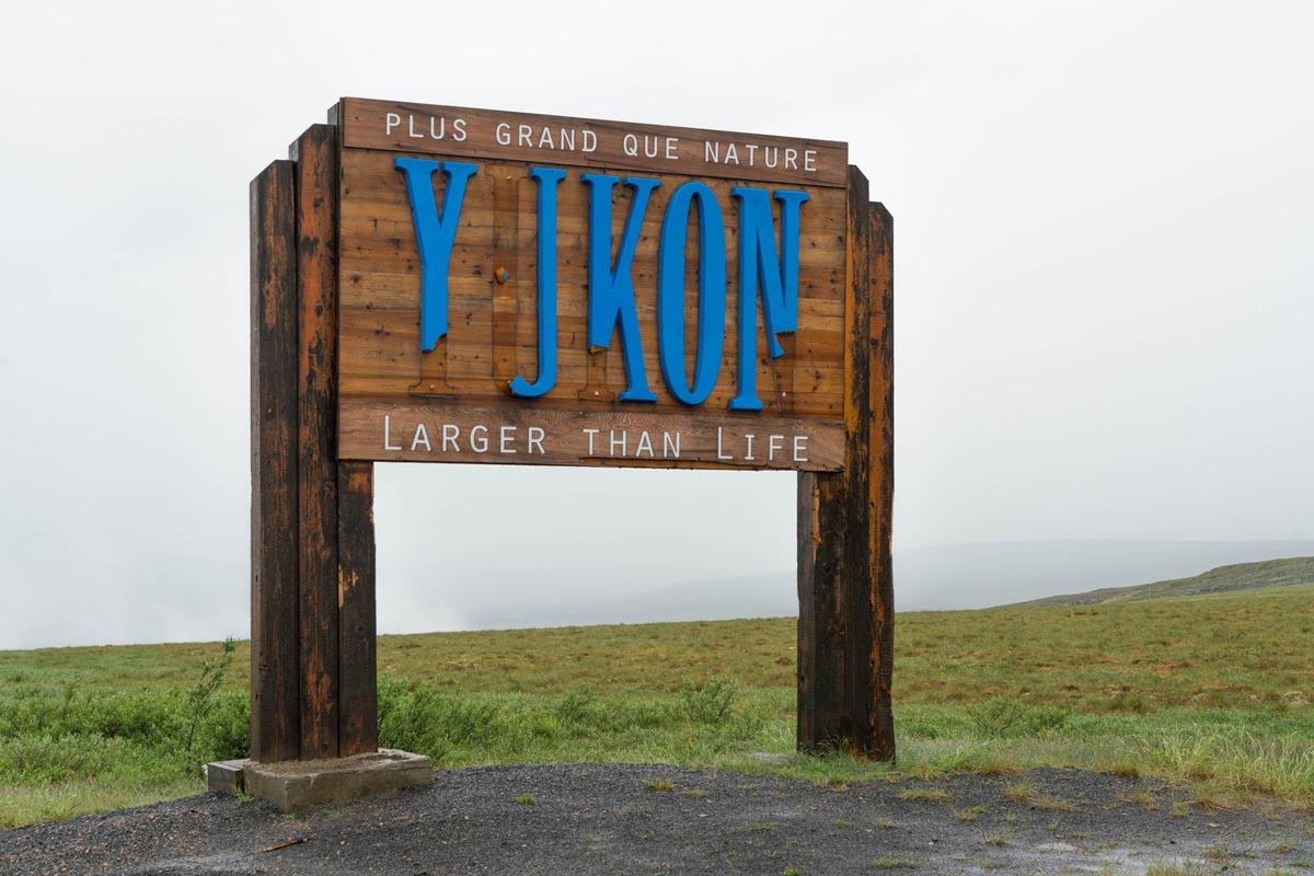 yukon sign dempster highway