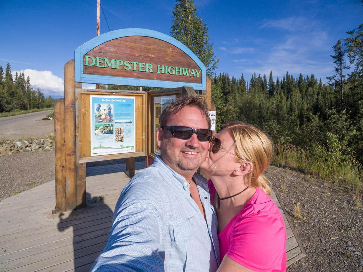 end of the dempster highway road trip