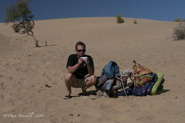 texting-in-desert-india