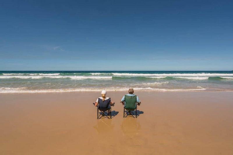 digital nomad lifestyle beach