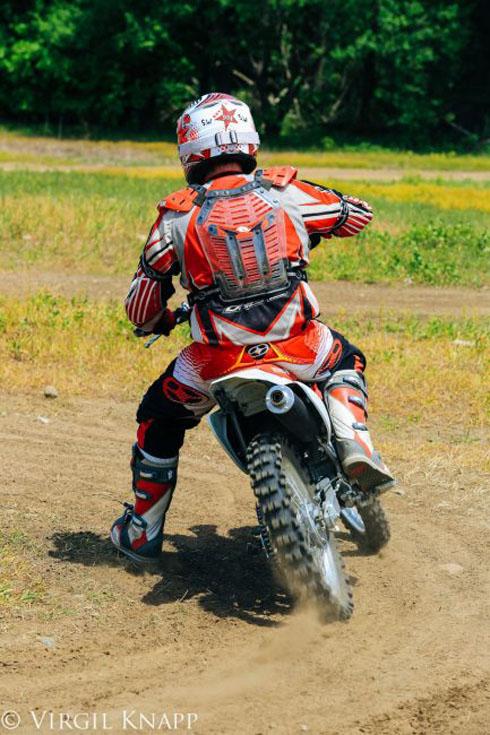 dirt biking ontario turn
