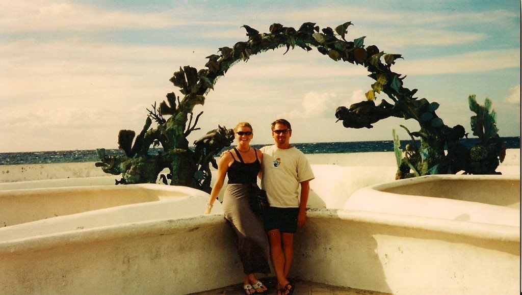Dave and Deb in Cozumel