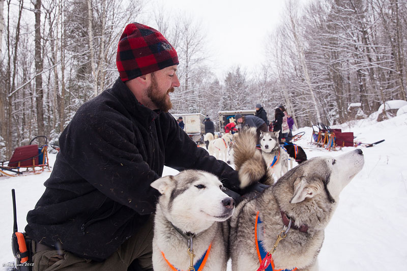 dogsledding ontario team