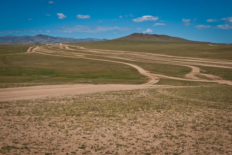 drive mongolia hill