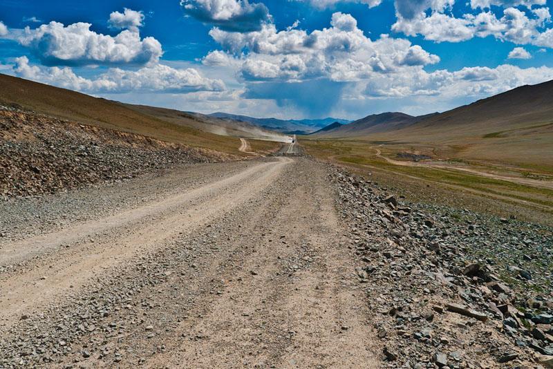 road mongolia