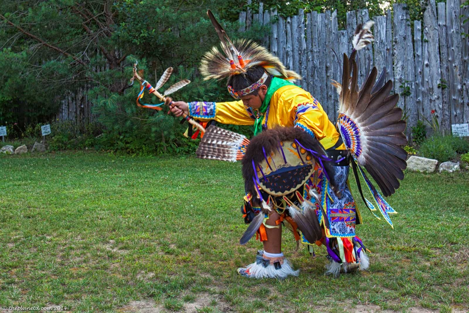 A First Nations Drum Ceremony on Manitoulin Island