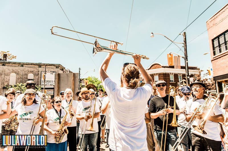 street brass dundas west fest