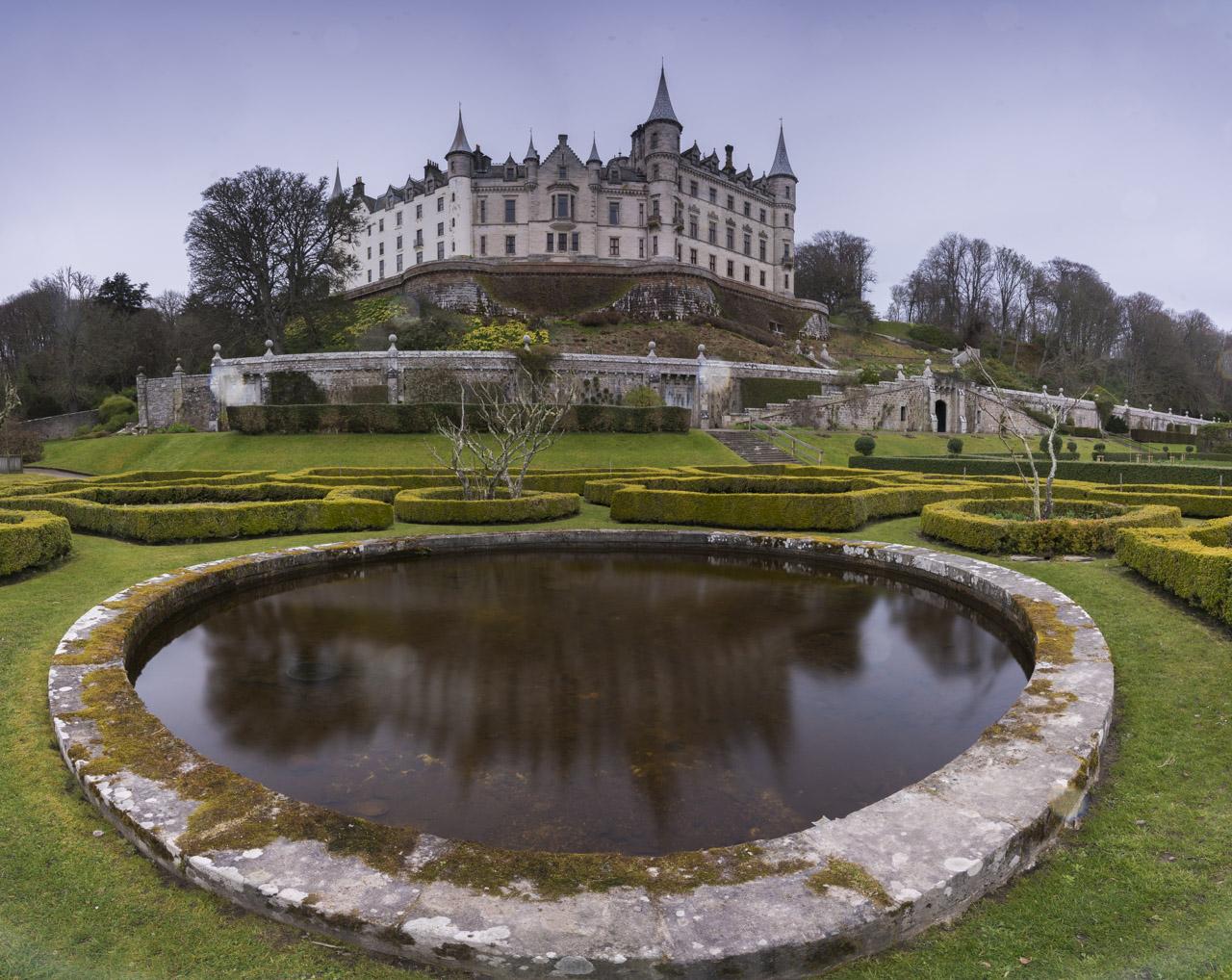 Дунробинский замок в Шотландии Замок Данробин Замок Данробин в Северной Шотландии dunrobin castle scotland 2