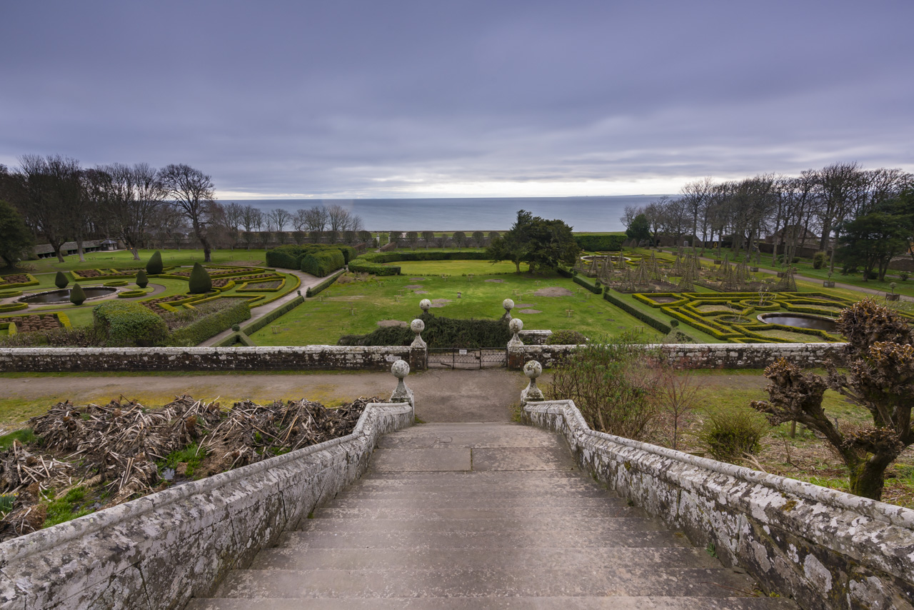 A last look at Dunrobin Castle