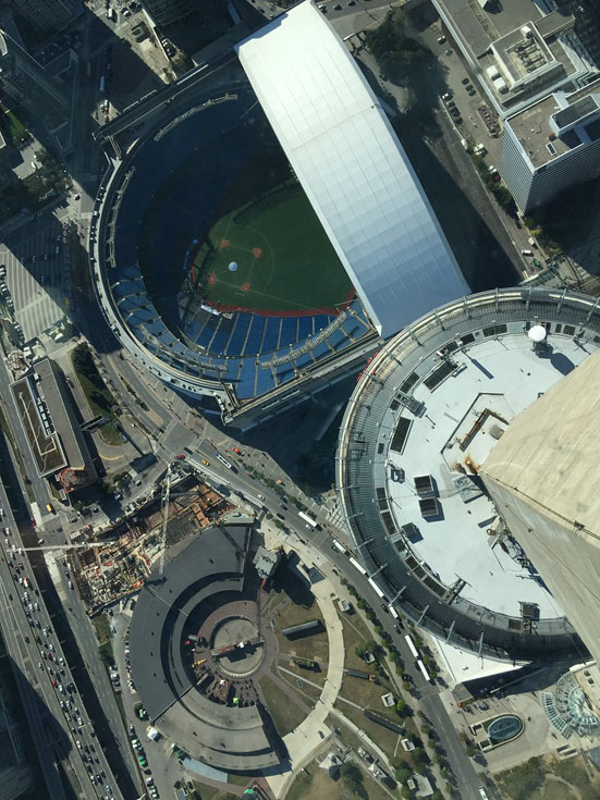 edgewalk cn tower baseball