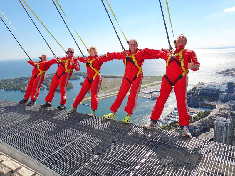 CN Tower Edgewalk – Taking on The World's Highest Sky Walk