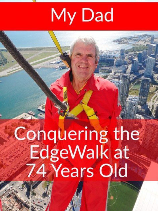 edgewalk cn tower dad pin