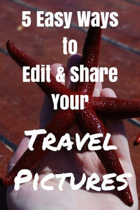 edit travel pictures pin