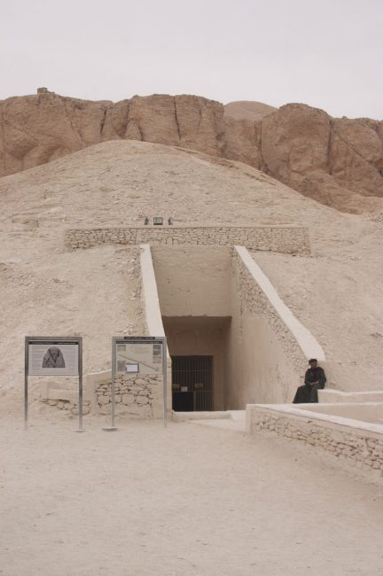 Tomb Entrance at Valley of the kings