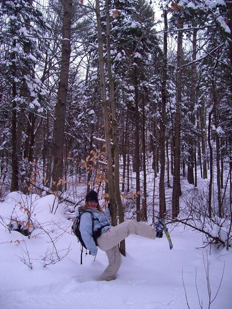 snowshoeing adventure